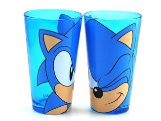 Sonic the Hedgehog Pint Glasses