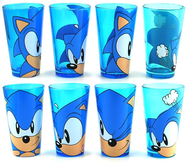 Sonic the Hedgehog - Pint Glasses (Set of 4)