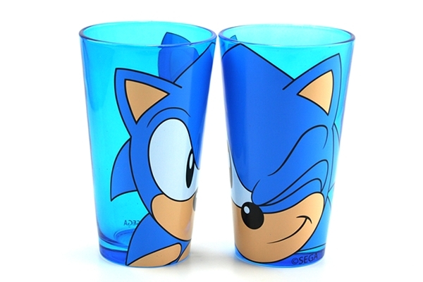 Sonic the Hedgehog Pint Glasses