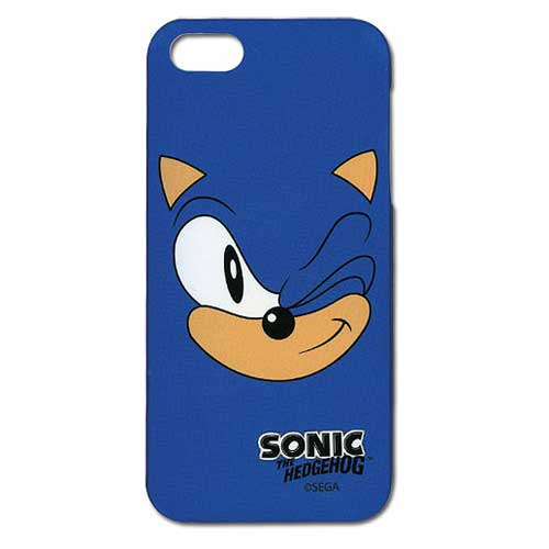 Sonic the Hedgehog Sonic Face iPhone 5 Case