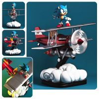 Sonic the Hedgehog The Tornado Diorama Statue