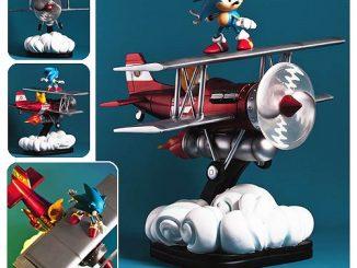 Sonic the Hedgehog The Tornado Diorama Statue