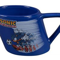 Sonic the Hedgehog Soccer Warped Ceramic Mug