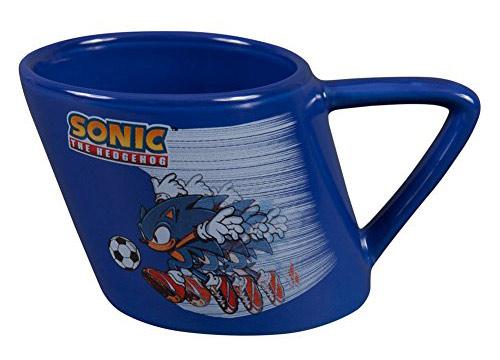Sonic the Hedgehog Soccer Warped Ceramic Mug