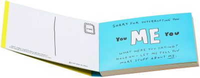 Sorry I Farted Again Postcard Book