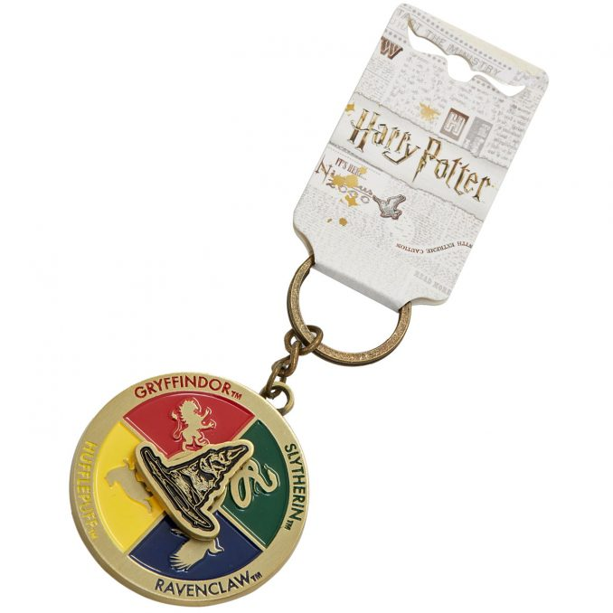 Sorting Hat Spinner Keychain
