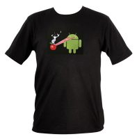 Sound Activated Electro Luminescence Android vs Apple T-shirt.jpg