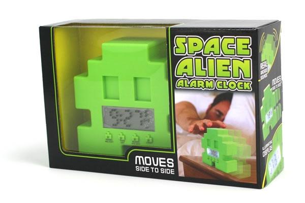 Space Invader Alien Alarm Clock