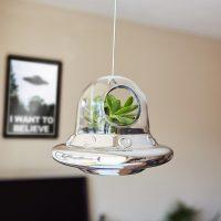 Space Invader Hanging Planter