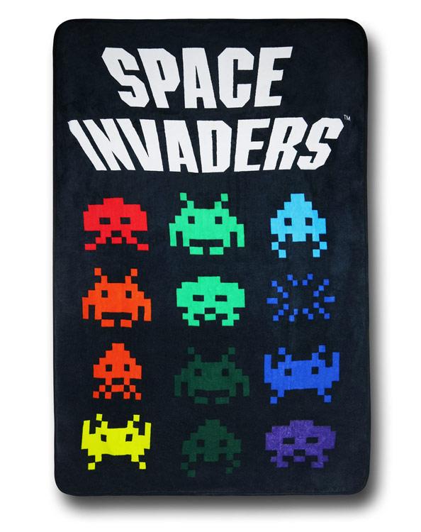 Space Invaders Blanket