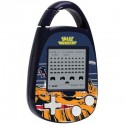 Space Invaders Carabiner