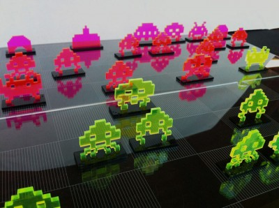 Space-Invaders-Chess-Set