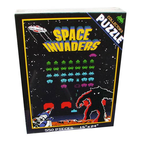 Space Invaders Collectors Puzzle