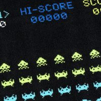 Space Invaders Game Rug
