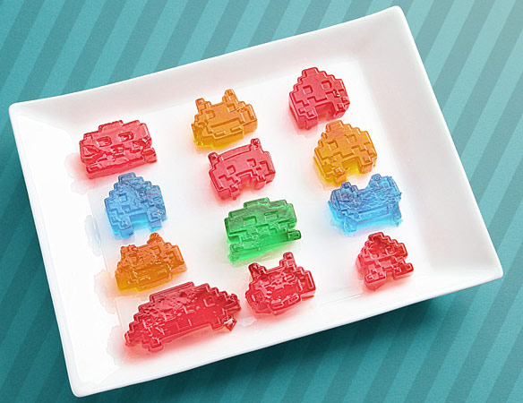 Space Invaders Ice Cube Molds
