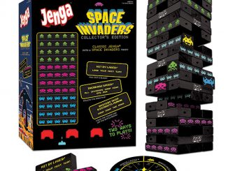 Space Invaders Jenga