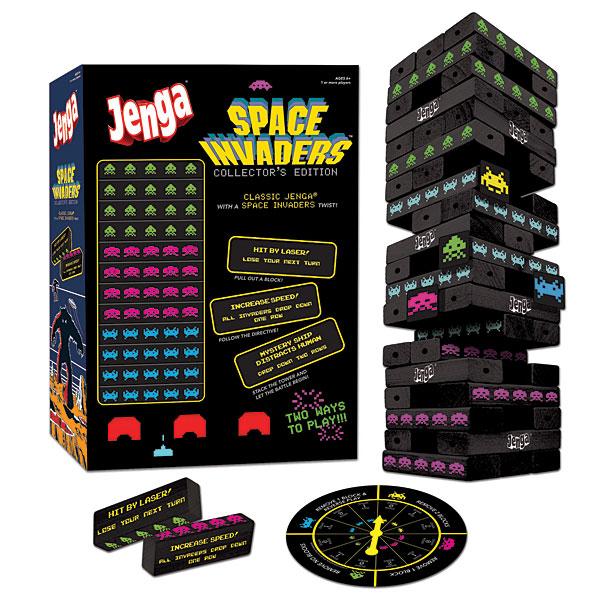 Space Invaders Jenga