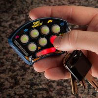 Space Invaders Keychain Toy