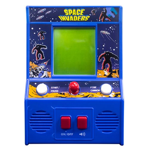 space invaders mini arcade game. Black Bedroom Furniture Sets. Home Design Ideas