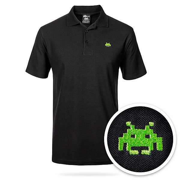 Space Invaders Polo Shirt