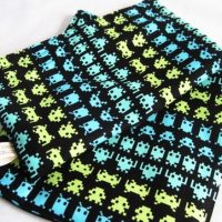Space Invaders Reusable Sandwich and Snack Bag