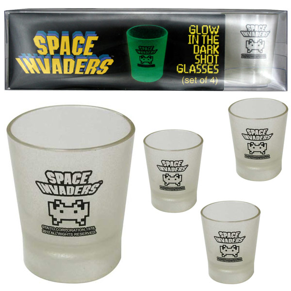 Space Invaders Shot Glass