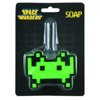 Space Invaders Soap and Sponge Set