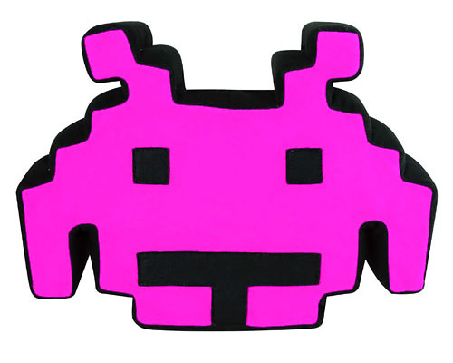 Space Invaders Talking Plush