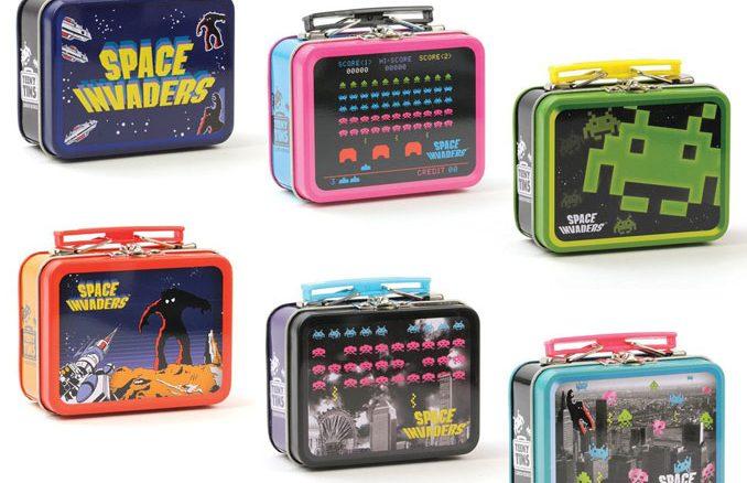 Space Invaders Teeny Tins Set