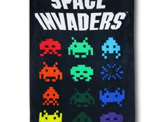 Space Invaders Throw Blanket