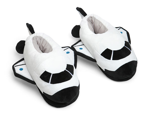 Space Odyssey Plush Shuttle Slippers