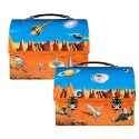 Space Retro Dome Lunch Box