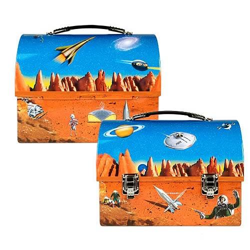 Space Retro Dome Lunch Box
