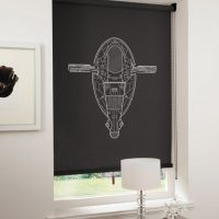 Spaceship Blinds Boba Fett Slave I
