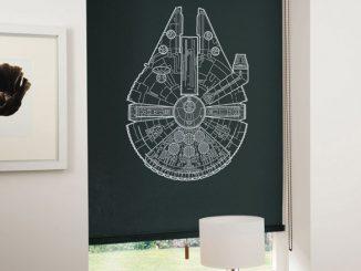 Spaceship Blinds Millenium Falcon