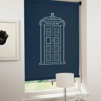 Spaceship Blinds TARDIS