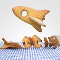 Spaceship Cookie Cutters