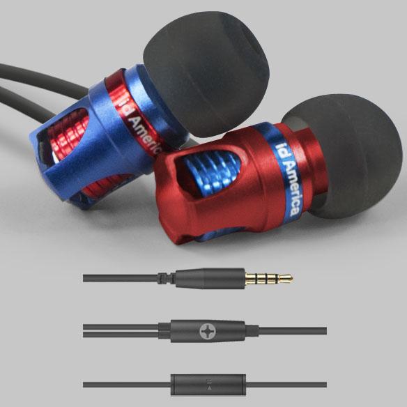 Spark Plug Inspired In-Ear Headphones