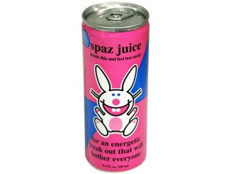 Happy Bunny Spaz Juice Energy Drink