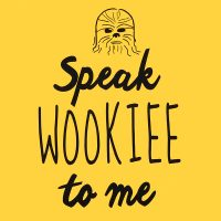 Speak Wookiee to Me Tank Top