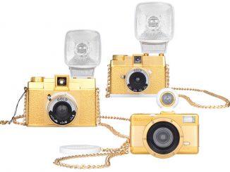 Special Edition Golden Lomography Cameras