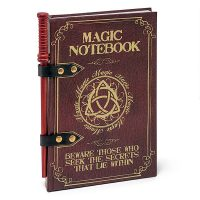 Spell Book Journal with Wand Pencil