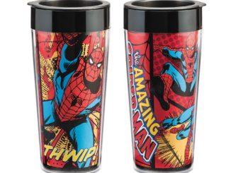 Spider-Man 16 oz. Plastic Travel Mug