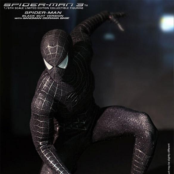 Spider-Man 3 Black Suit Version Sixth-Scale Figure