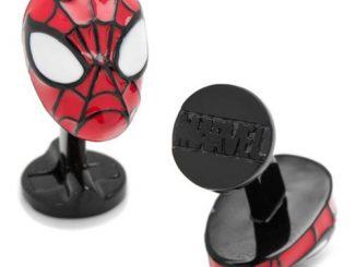 Spider-Man 3D Cufflinks