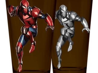 Spider-Man Armor Heat Change Pint Glass