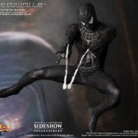 Spider-Man Black Suit Version Sixth-Scale Figure Shooting Web