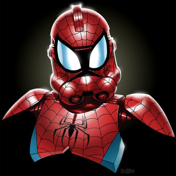 Spider-Man Clone Trooper