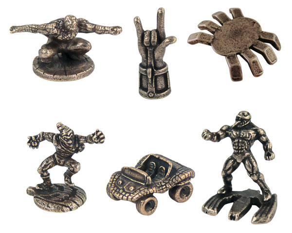 Spider-Man Collector's Edition Monopoly Tokens