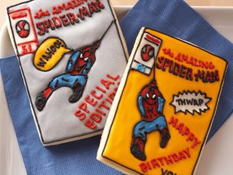 Spider-Man Comic Book Cookie Cutters